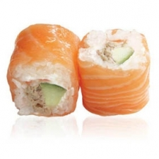 Saumon rollis Avocat poulet mayo
