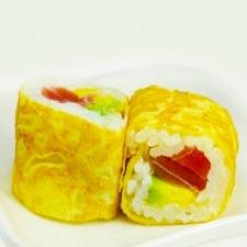 Ombelette rolls Avocat thon