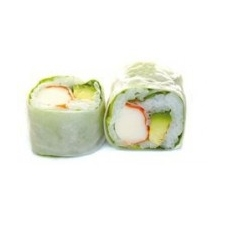 Printemps rolls Concombre cheese