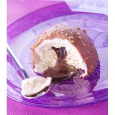 Dome praline coeur chocolat