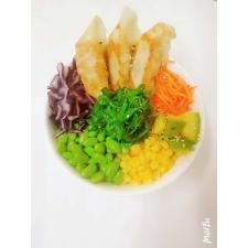 gyoza poke bowl