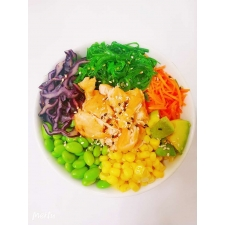 Poke bowl(saumon girllé)